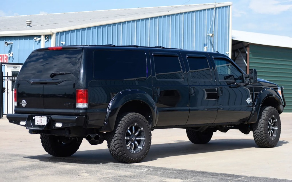 This Rebuilt And Modified Ford Excursion Will Meet All Your Space
