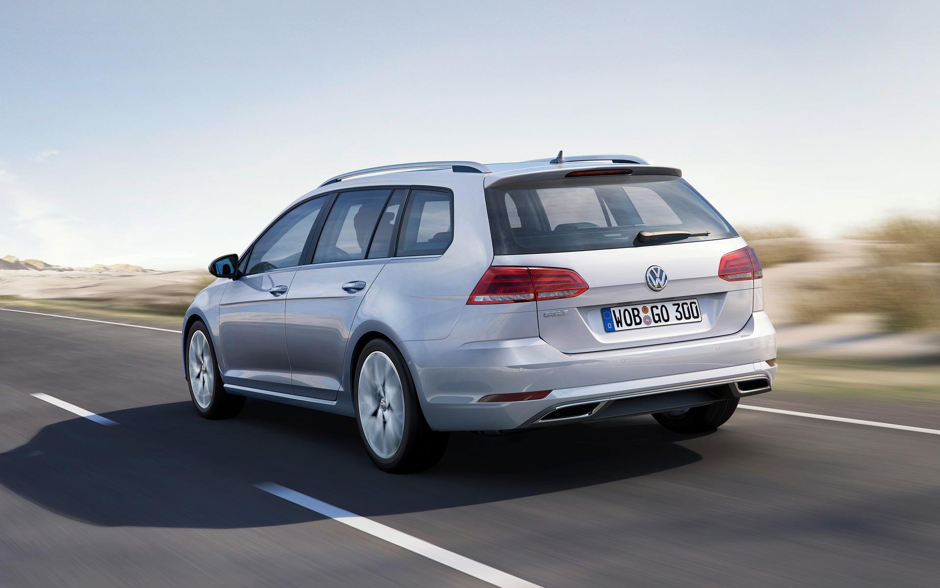 La Volkswagen Golf SportWagen tire sa révérence 377133_2019_Volkswagen_Golf