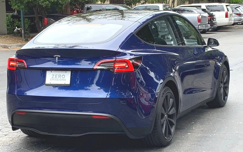 Tesla Model Y Hits the Streets for Testing - The Car Guide