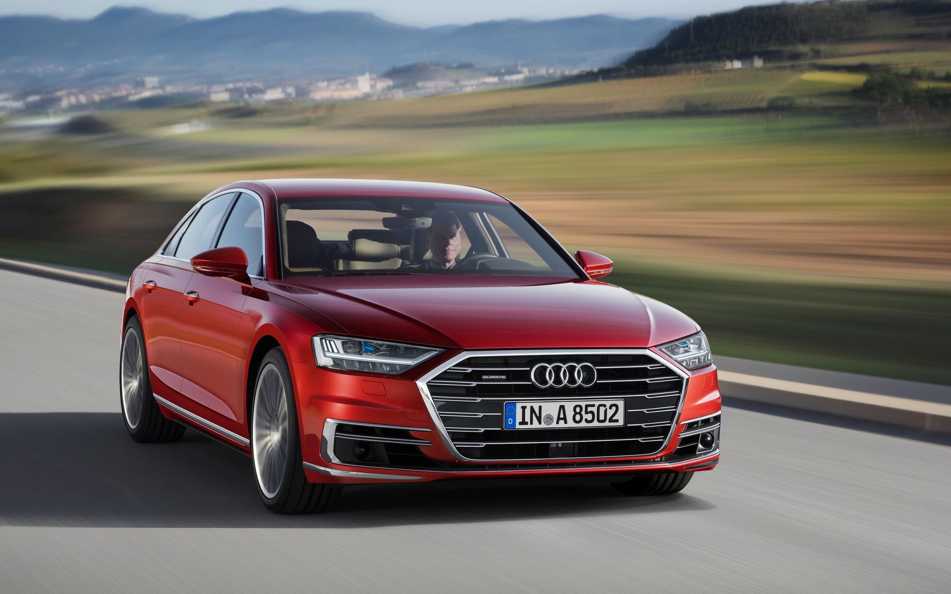 <p>Audi A8</p>