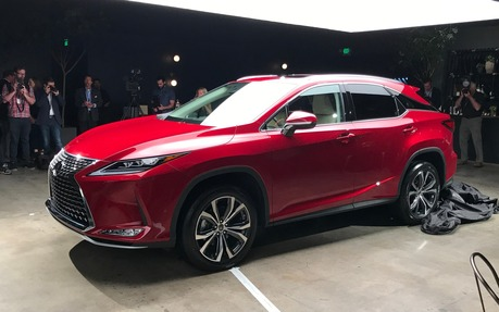 Our Exclusive Look At The New 2020 Lexus Rx The Car Guide