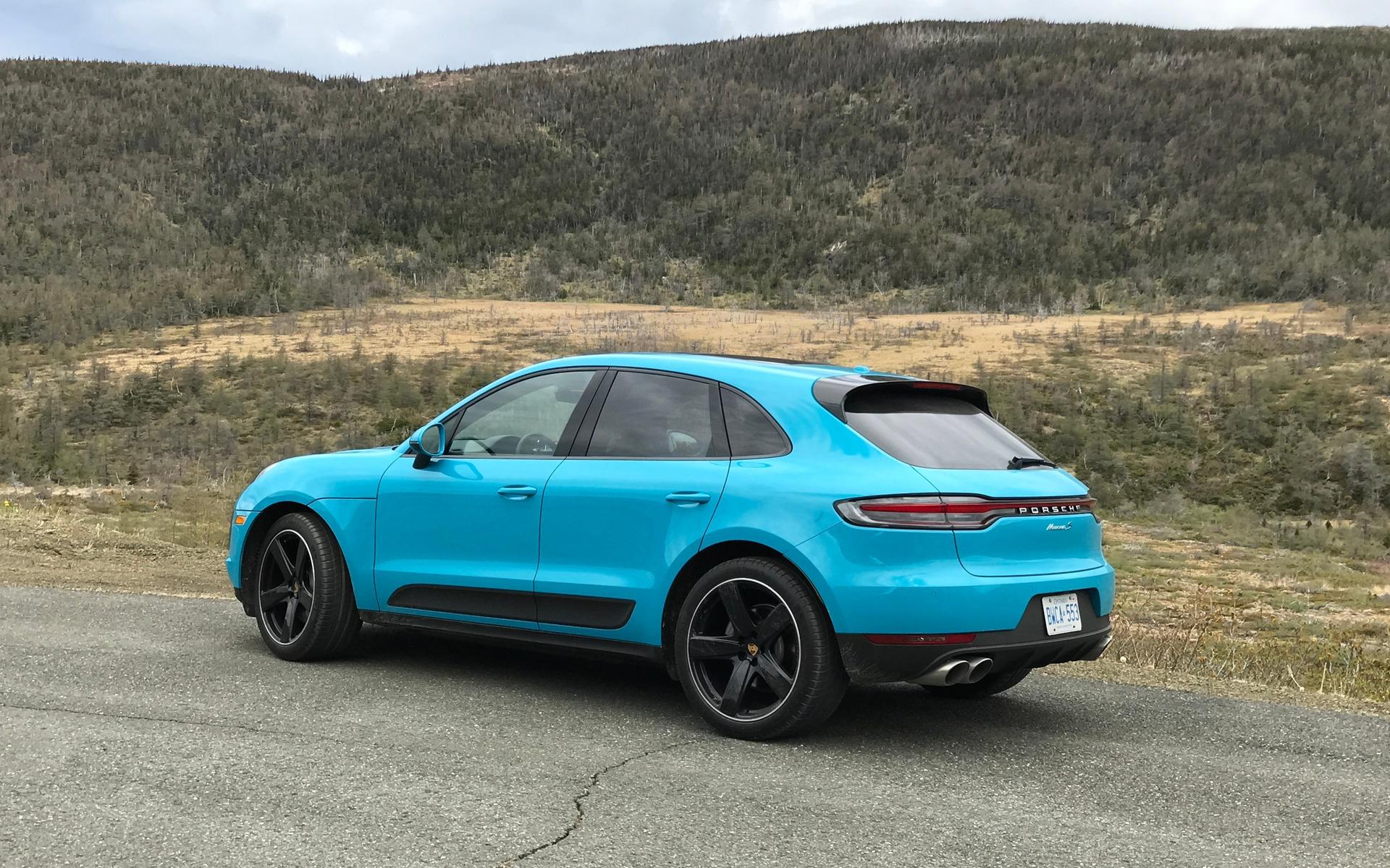 Porsche Macan 2019 : il y a plus abordable, mais certainement pas aussi accompli 380260_2020_Porsche_Macan