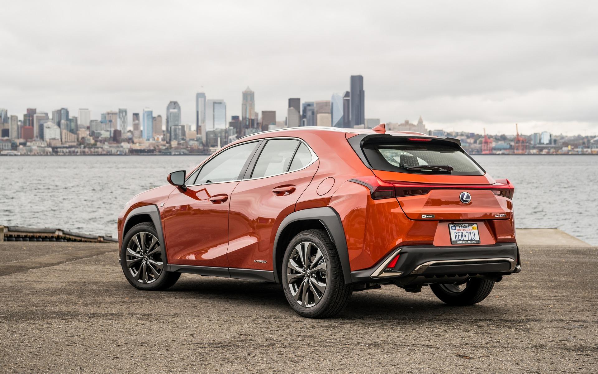 Lexus UX 2019, un pur plaisir à conduire 380305_2019_Lexus_UX