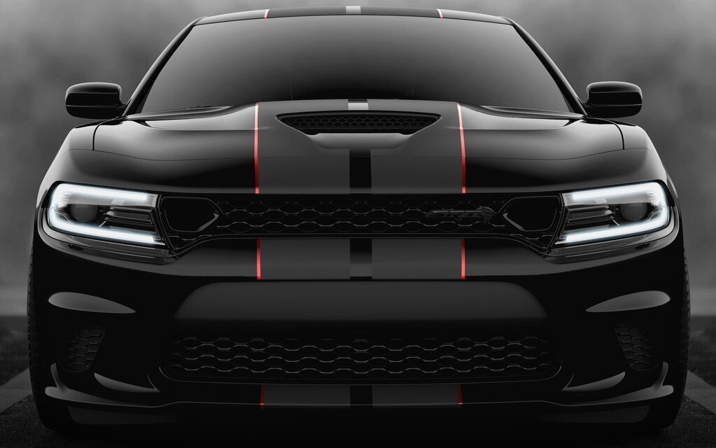 Top 10 Fastest Cars In The World >> 2019 Dodge Charger SRT Hellcat Goes Dark with Octane ...