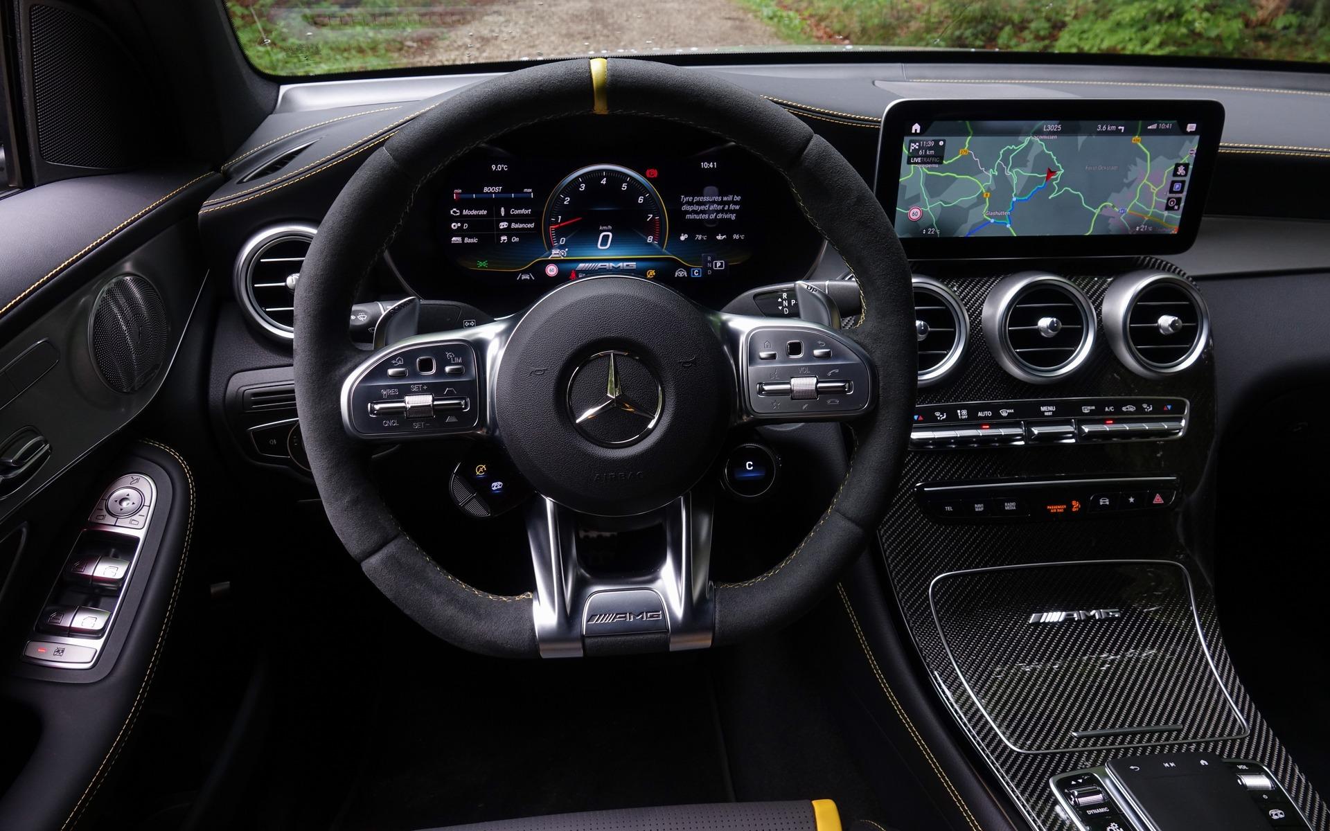 <p>Mercedes-AMG GLC 63 S Coup&eacute; 2020</p>