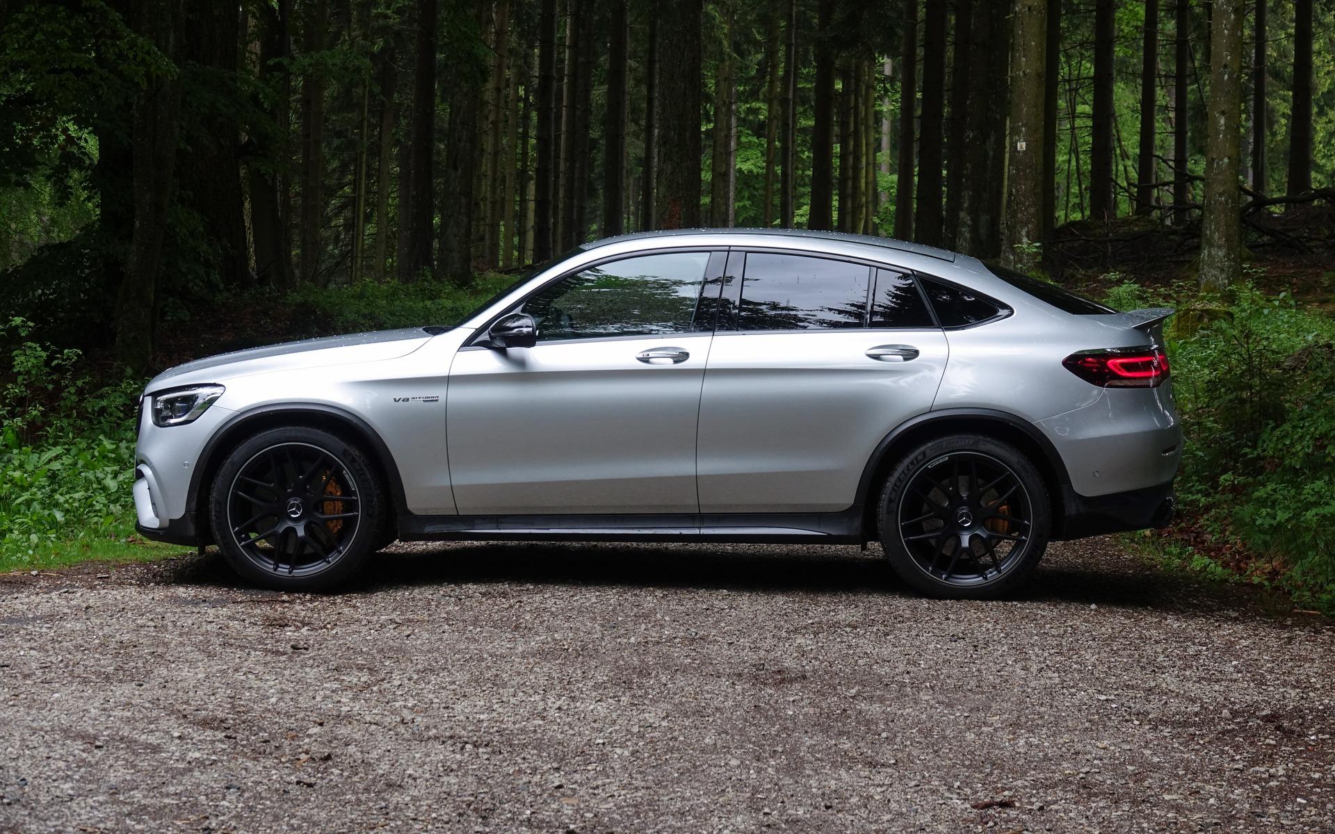 <p>2020 Mercedes-AMG GLC 63 S Coupe</p>
