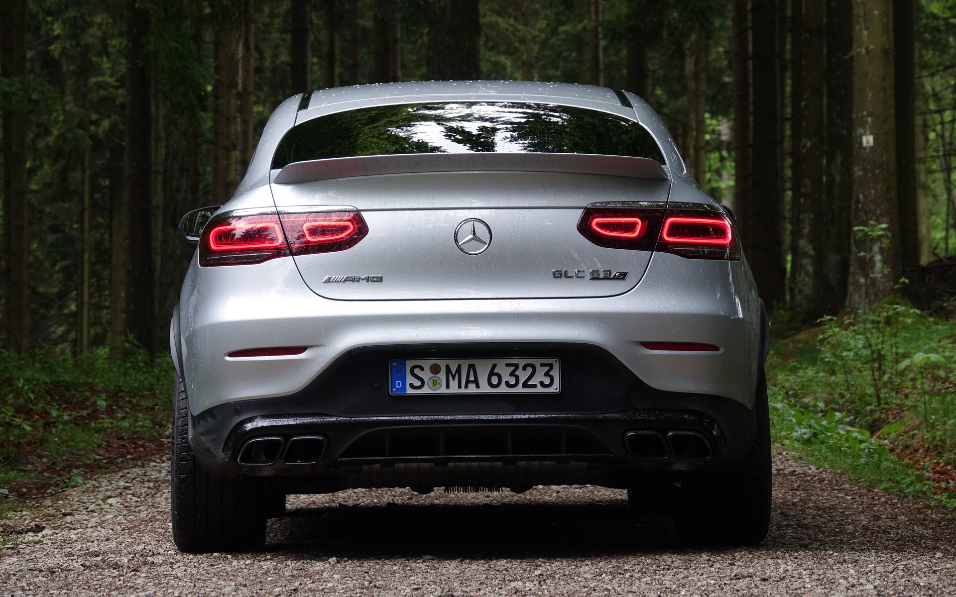 <p>2020 Mercedes-AMG GLC 63 S Coupe</p>