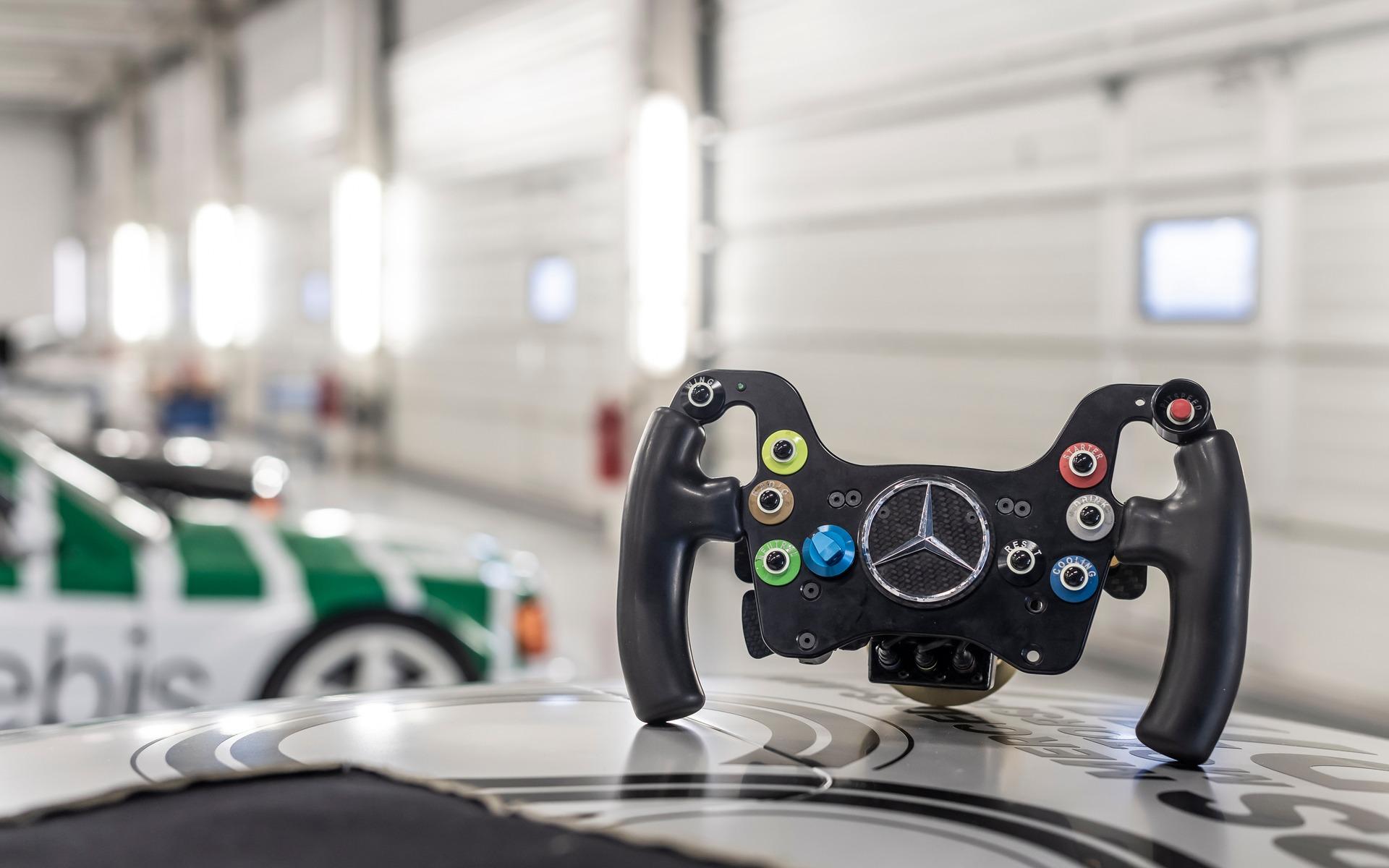 <p>Mercedes-Benz Classic Collection à Silverstone</p>