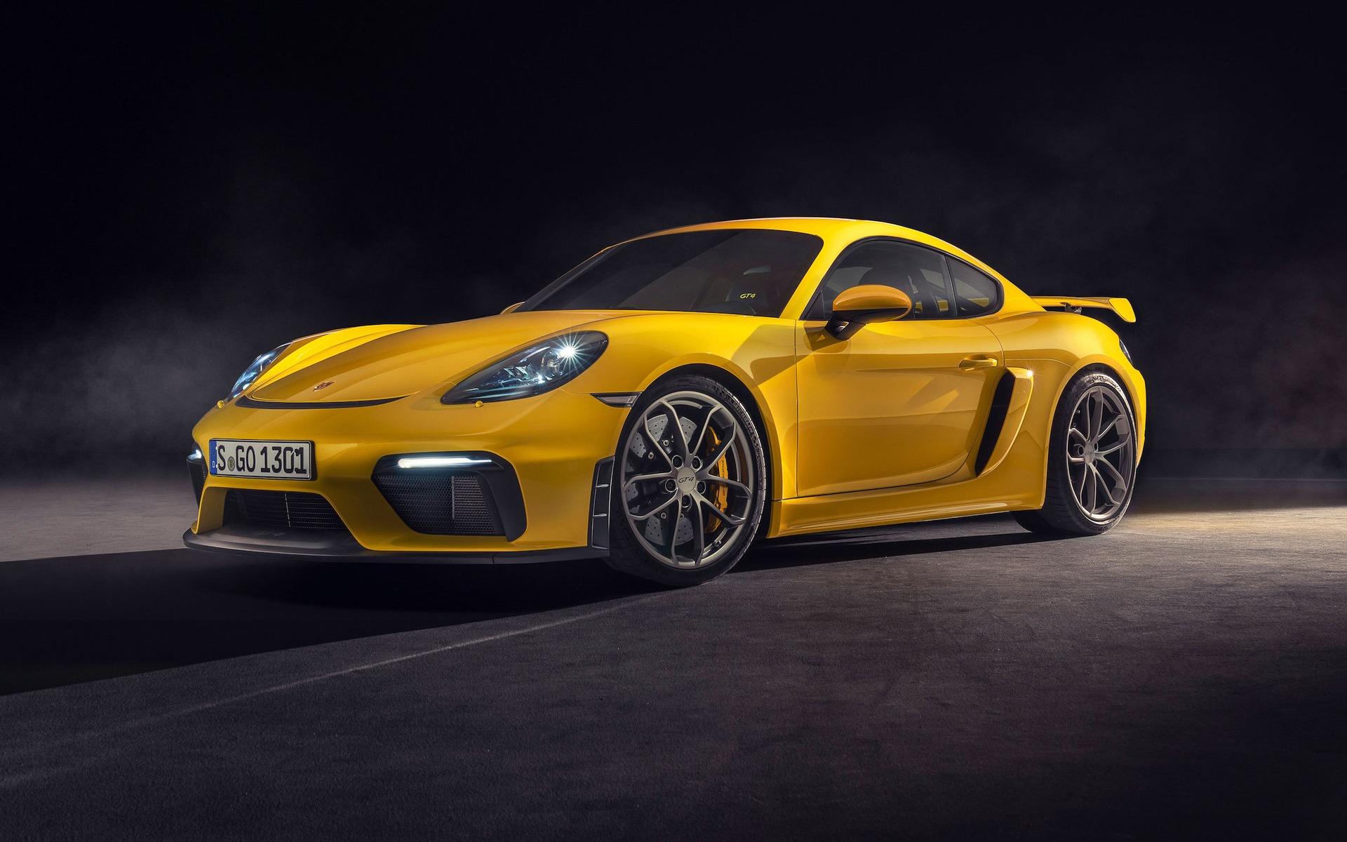 <p>Porsche 718 GT4&nbsp;2019</p>