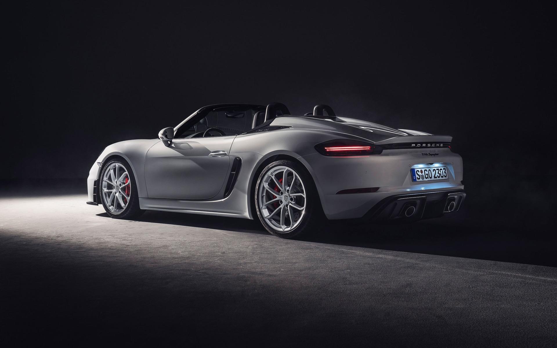 <p>Porsche 718 Spyder 2019</p>