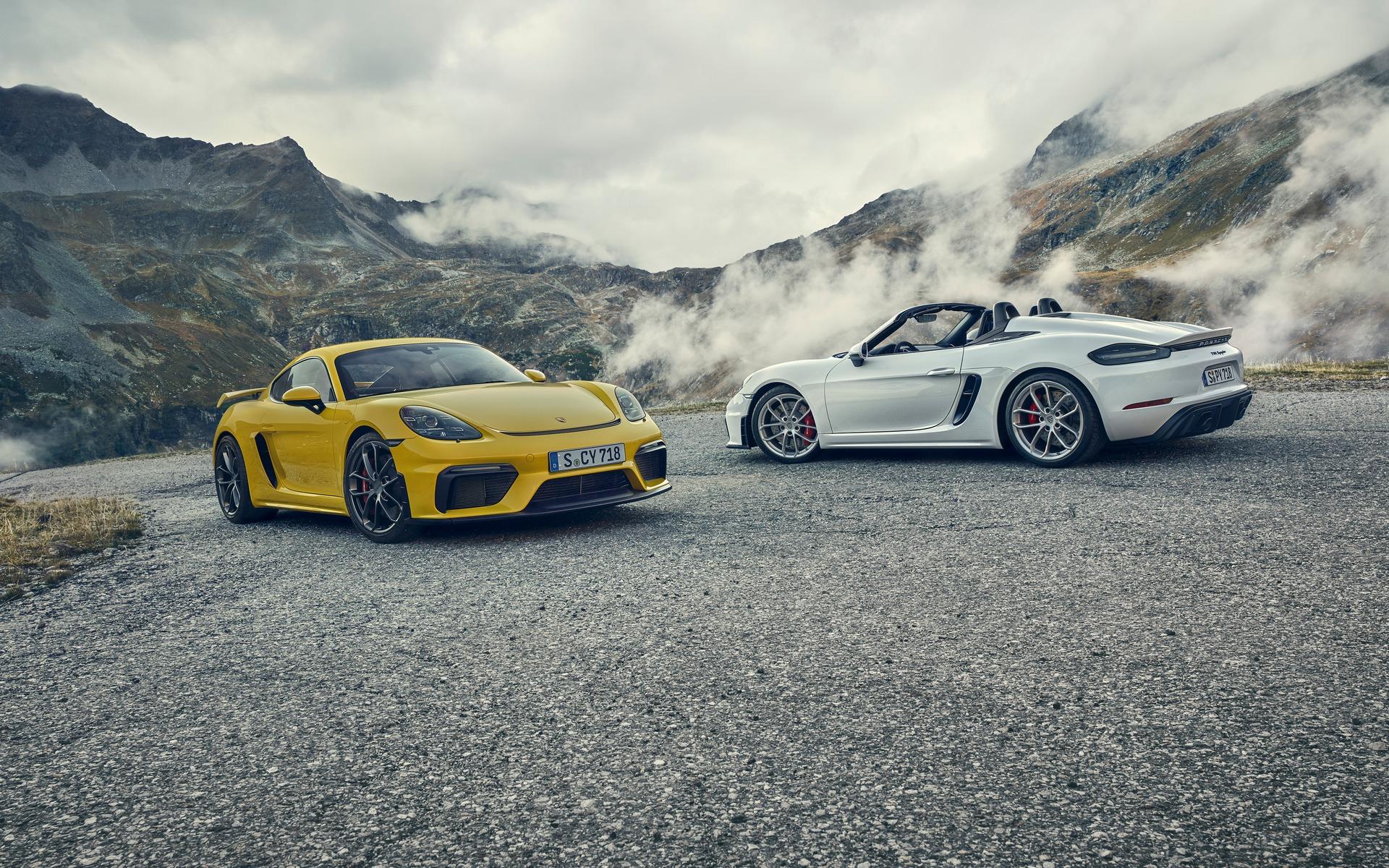 Porsche 718 GT4 et 718 Spyder 2019