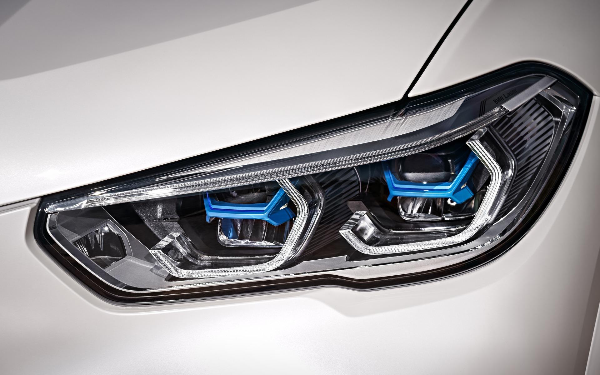 Phares au laser sur le BMW X52019