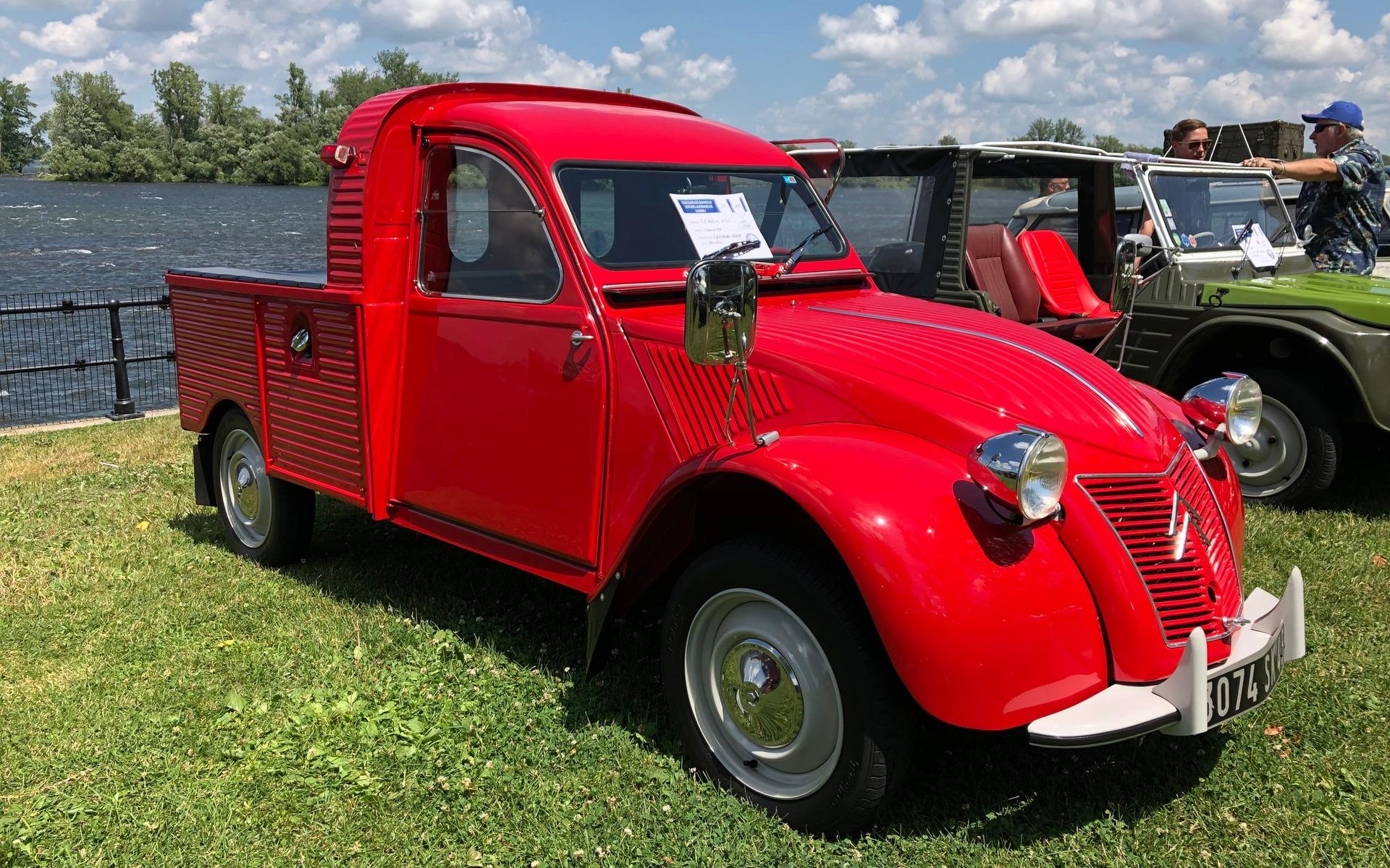 <p>Citro&euml;n 2CV Truckette 1959</p>