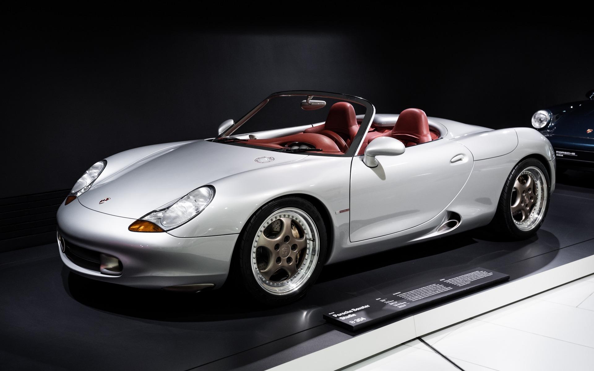 <p>Le concept de ce qui allait devenir une certain Porsche Boxster...</p>