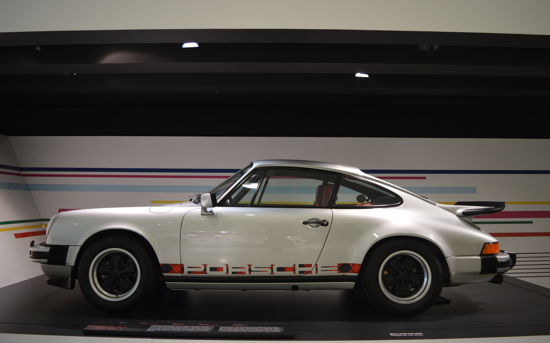 <p>La première Porsche 911 Turbo</p>