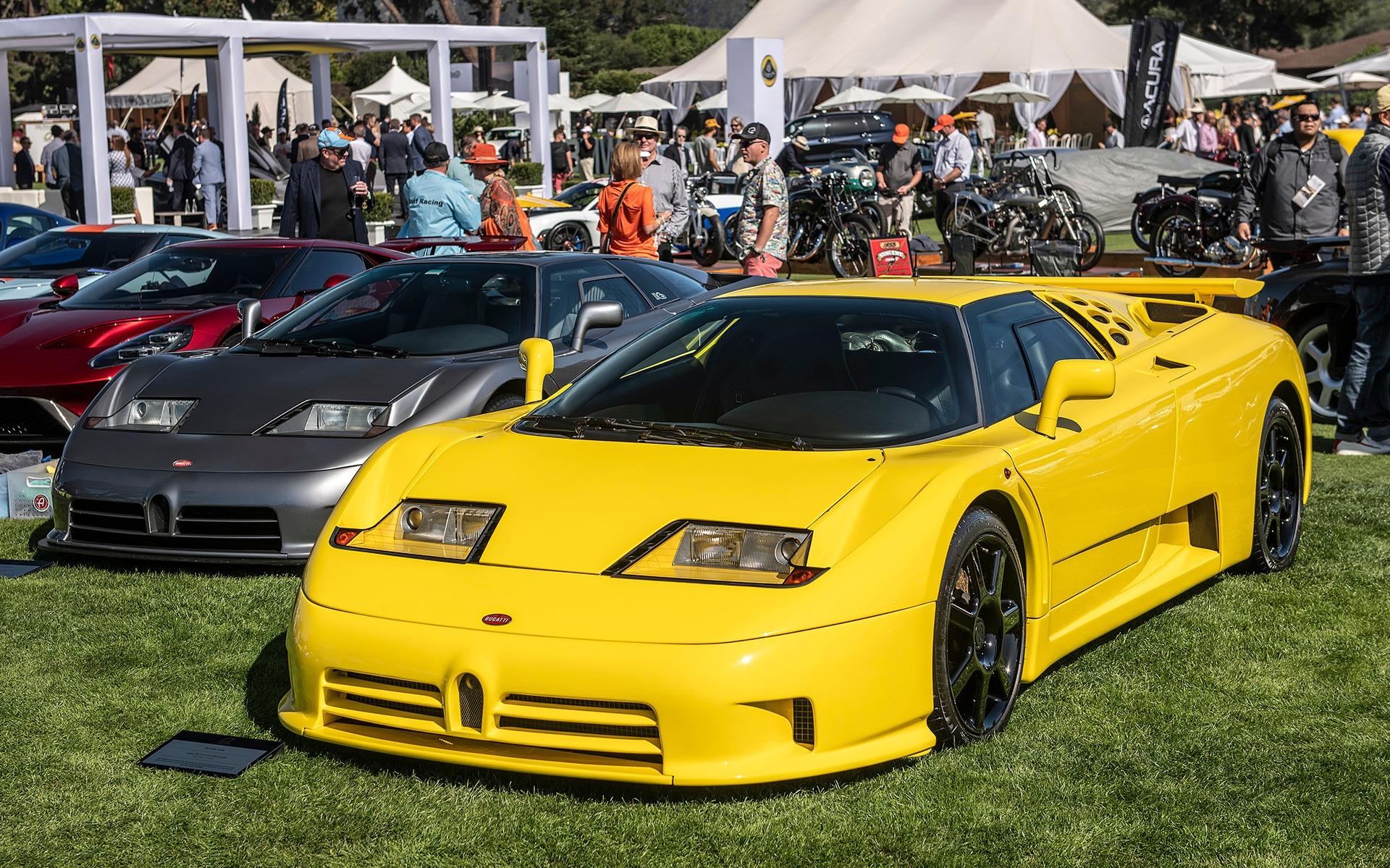 <p>Bugatti EB110</p>