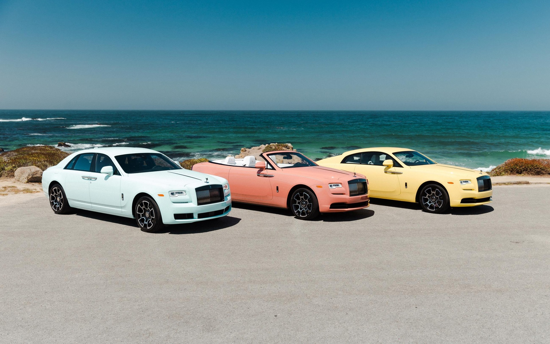 <p>Rolls-Royce Pastel Collection</p>
