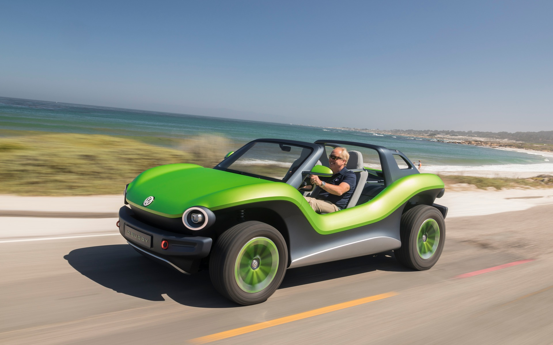 Volkswagen ID  Buggy Concept: Driving an Electric Dune Buggy