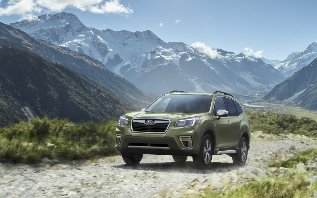 2020 subaru forester gains safety tech  convenience features