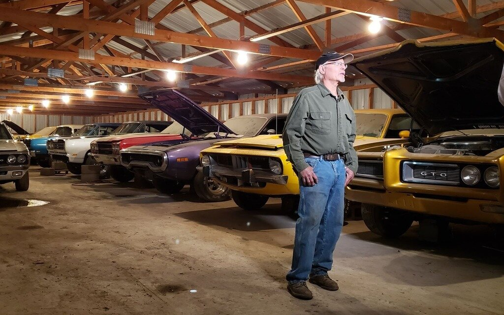 This Man Is Selling 93 Vintage Muscle Cars Just Name Your