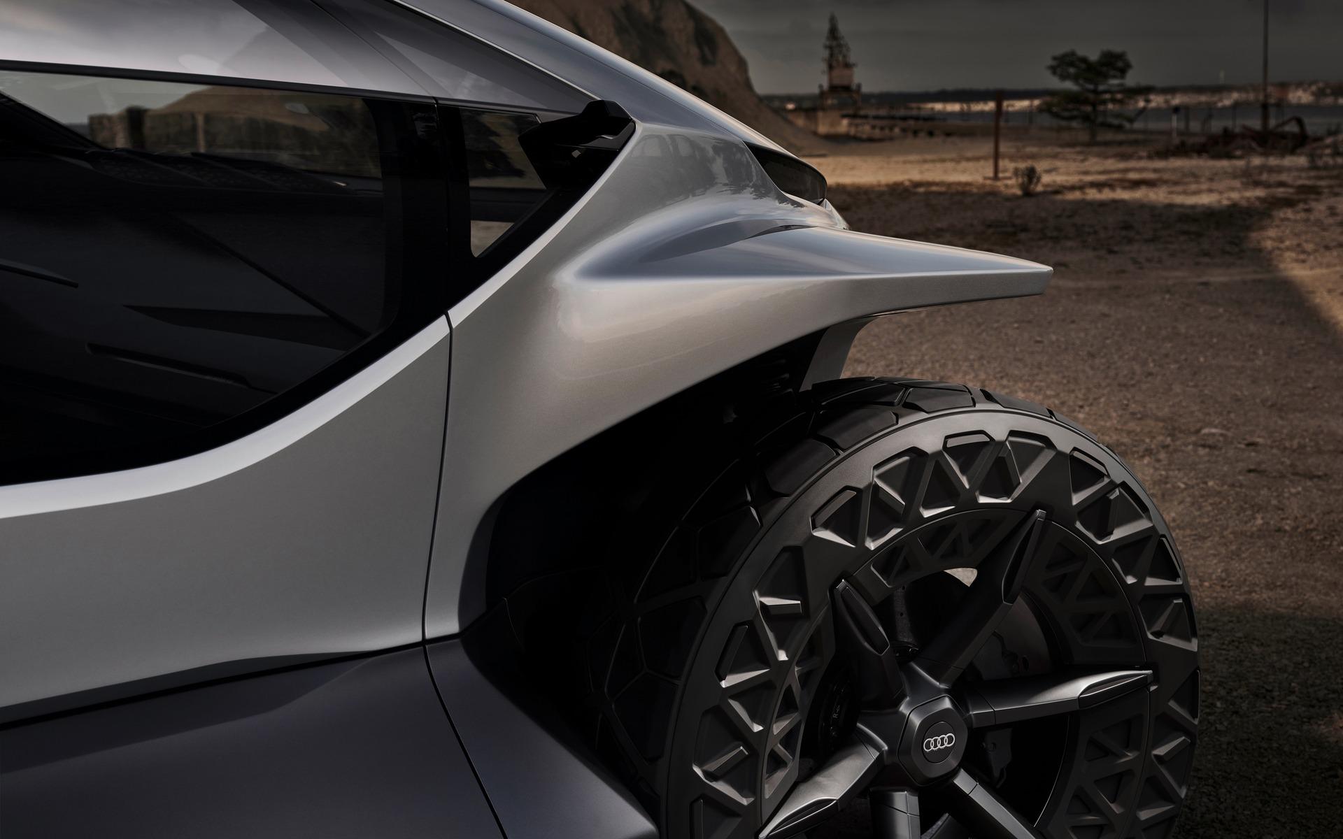 <p>Audi AI:TRAIL quattro</p>