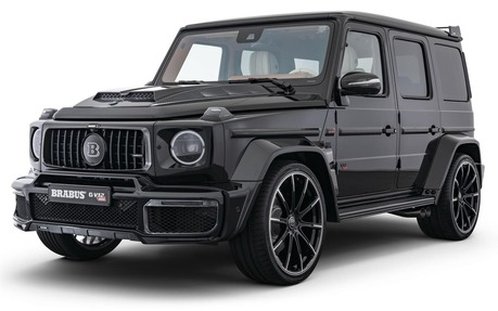 This 875 000 Brabus G Class Has 888 Horsepower The Car Guide