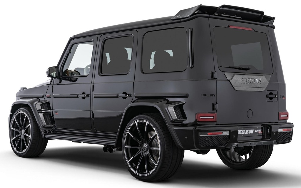 This $875,000 Brabus G-Class Has 888 Horsepower - The Car Guide