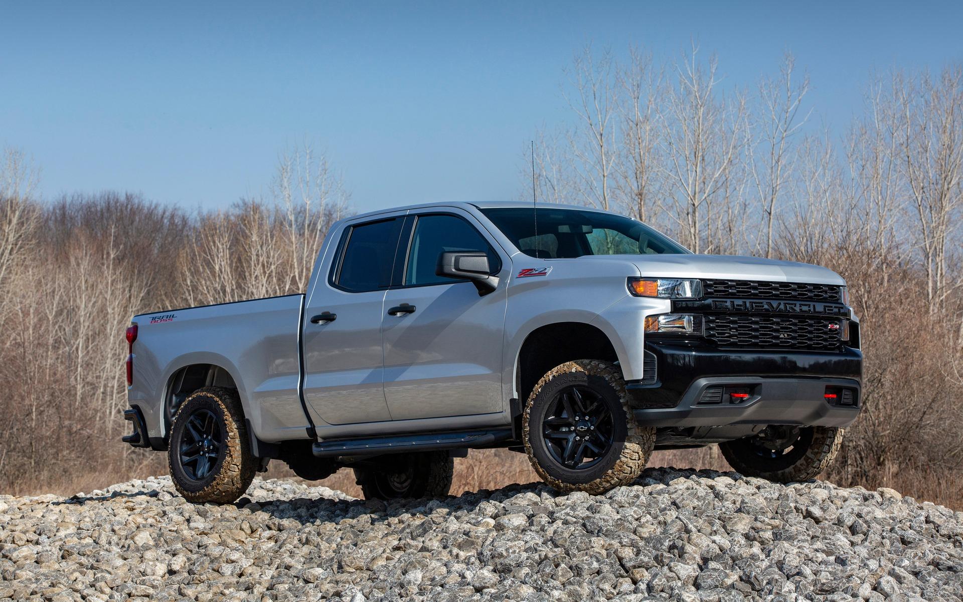 <p>Chevrolet Silverado Trail Boss 2020</p>