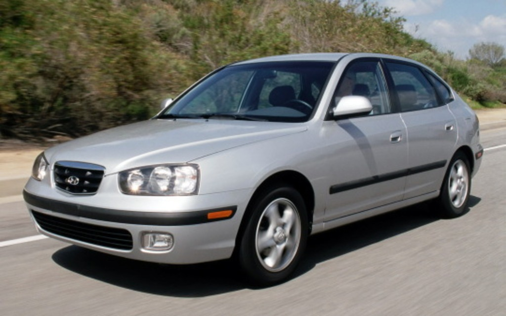 <p>Hyundai Elantra 2001</p>