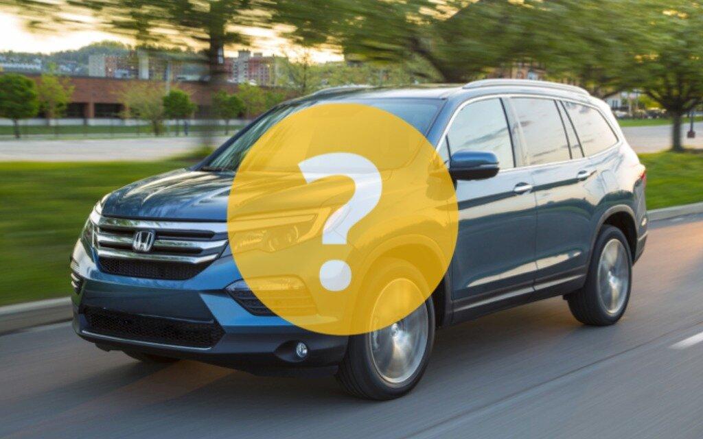 Voitures d'occasion : Acura MDX ou Honda Pilot? - Guide Auto