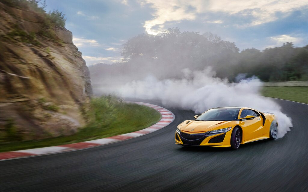 2020 acura nsx gets a new heritage-inspired colour