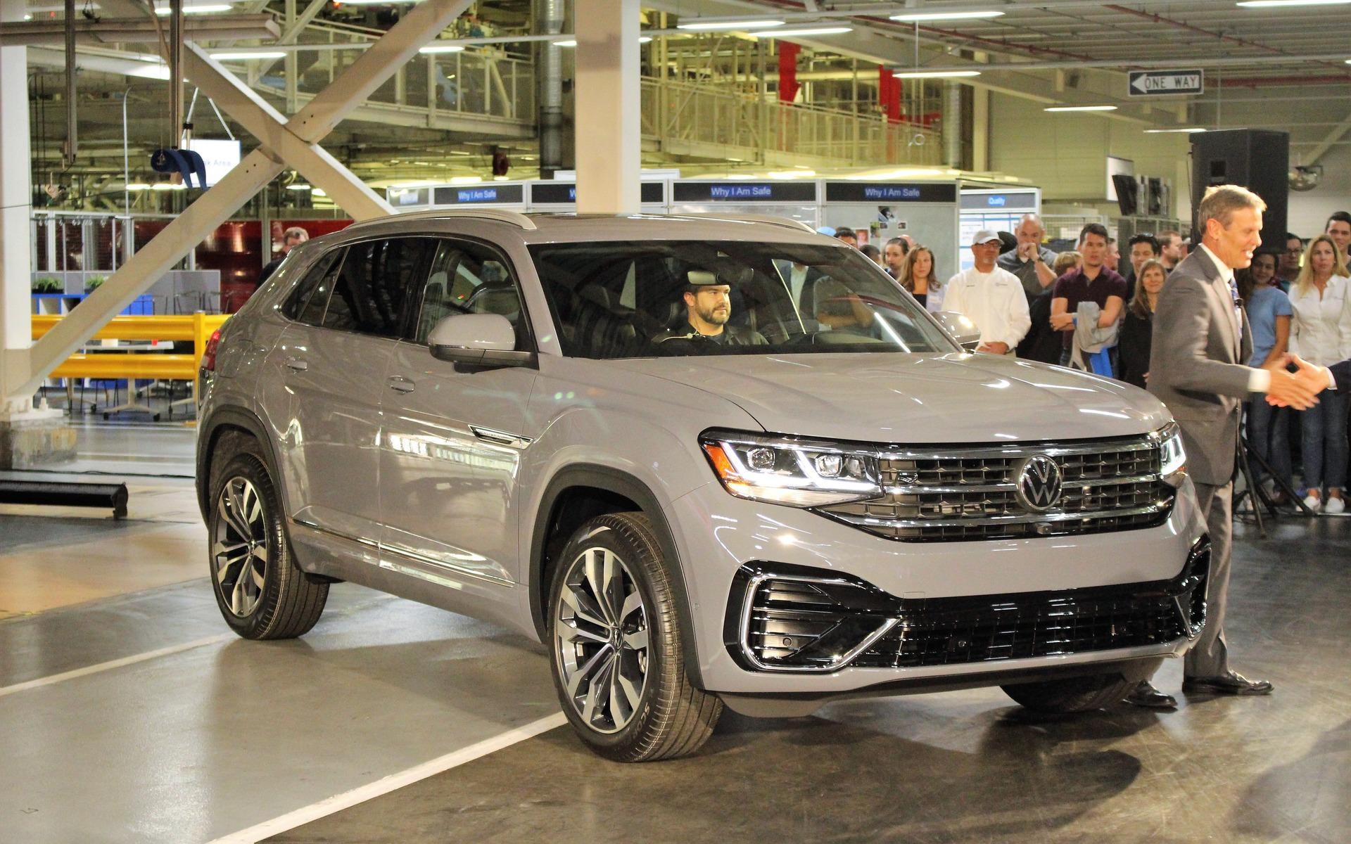 2020 Volkswagen Atlas Cross Sport Tag Team The Car Guide