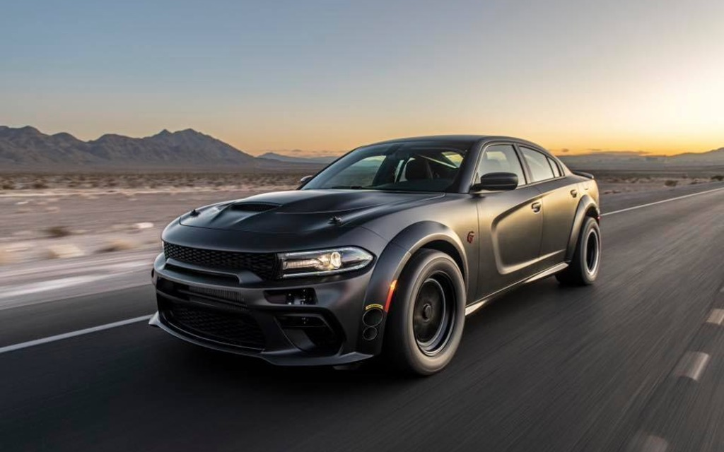 This Custom Dodge Charger Has Awd And 1 525 Horsepower The Car Guide