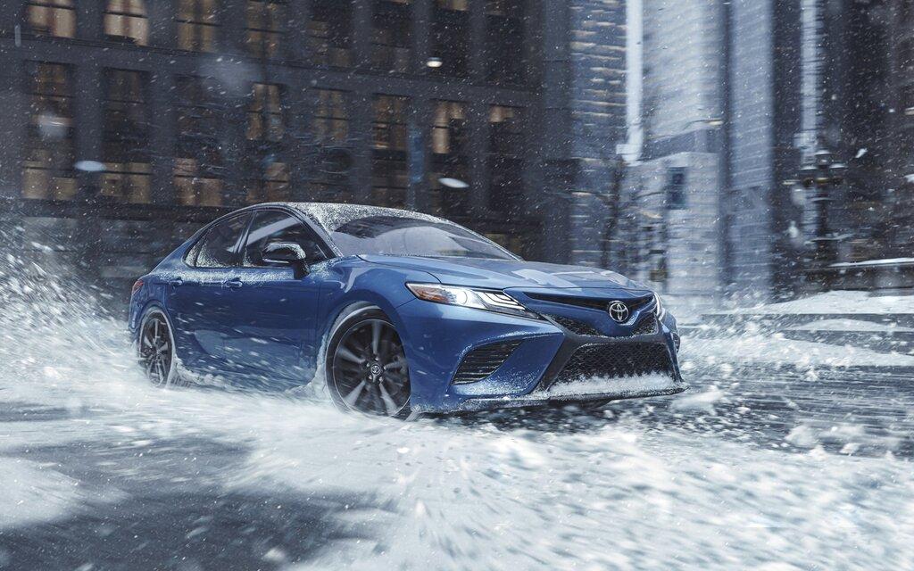 Les Toyota Camry et Avalon : un rouage intégral