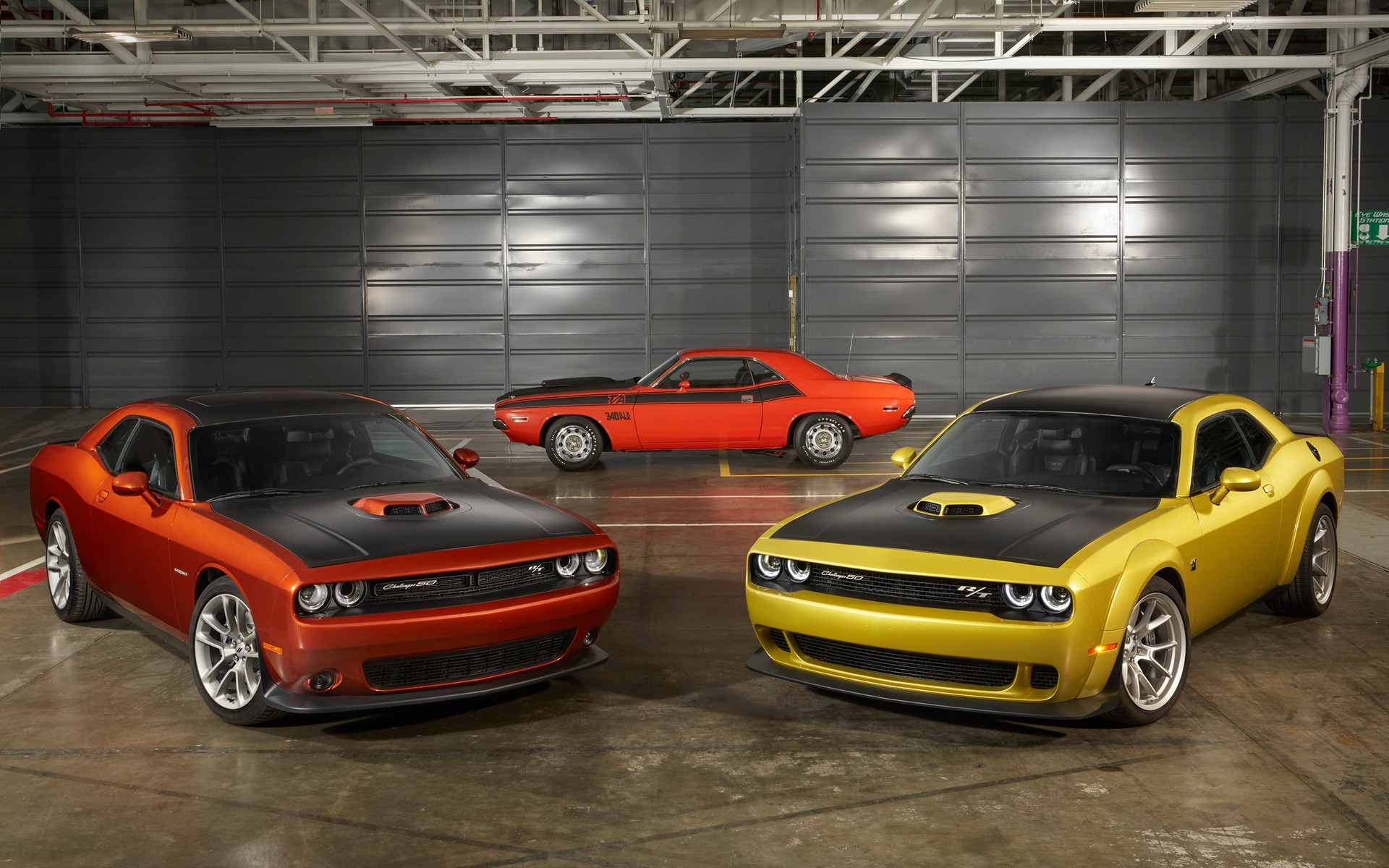 Dodge Celebrates The Challenger With A 50th Anniversary Edition The Car Guide