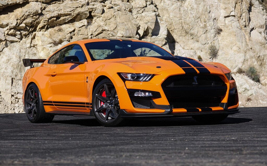 2020 ford mustang shelby gt500  outrageous and obedient