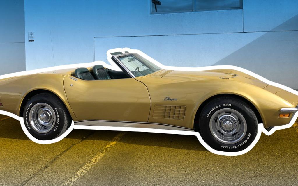 Parle-moi de ton char : Dominic et sa Chevrolet Corvette 1971 401235_1971_Chevrolet_Corvette