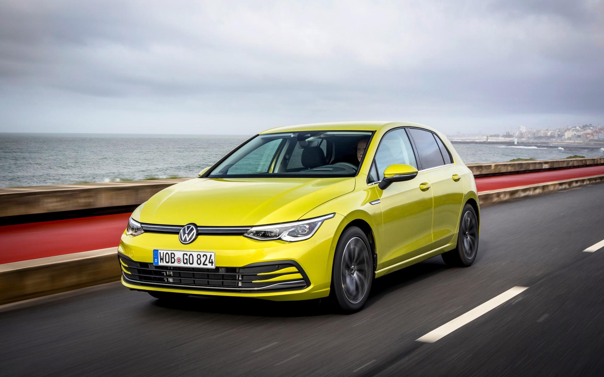 <p>Volkswagen Golf 2021</p>