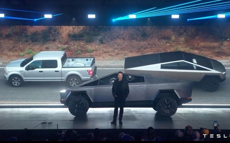 new ford electric truck
