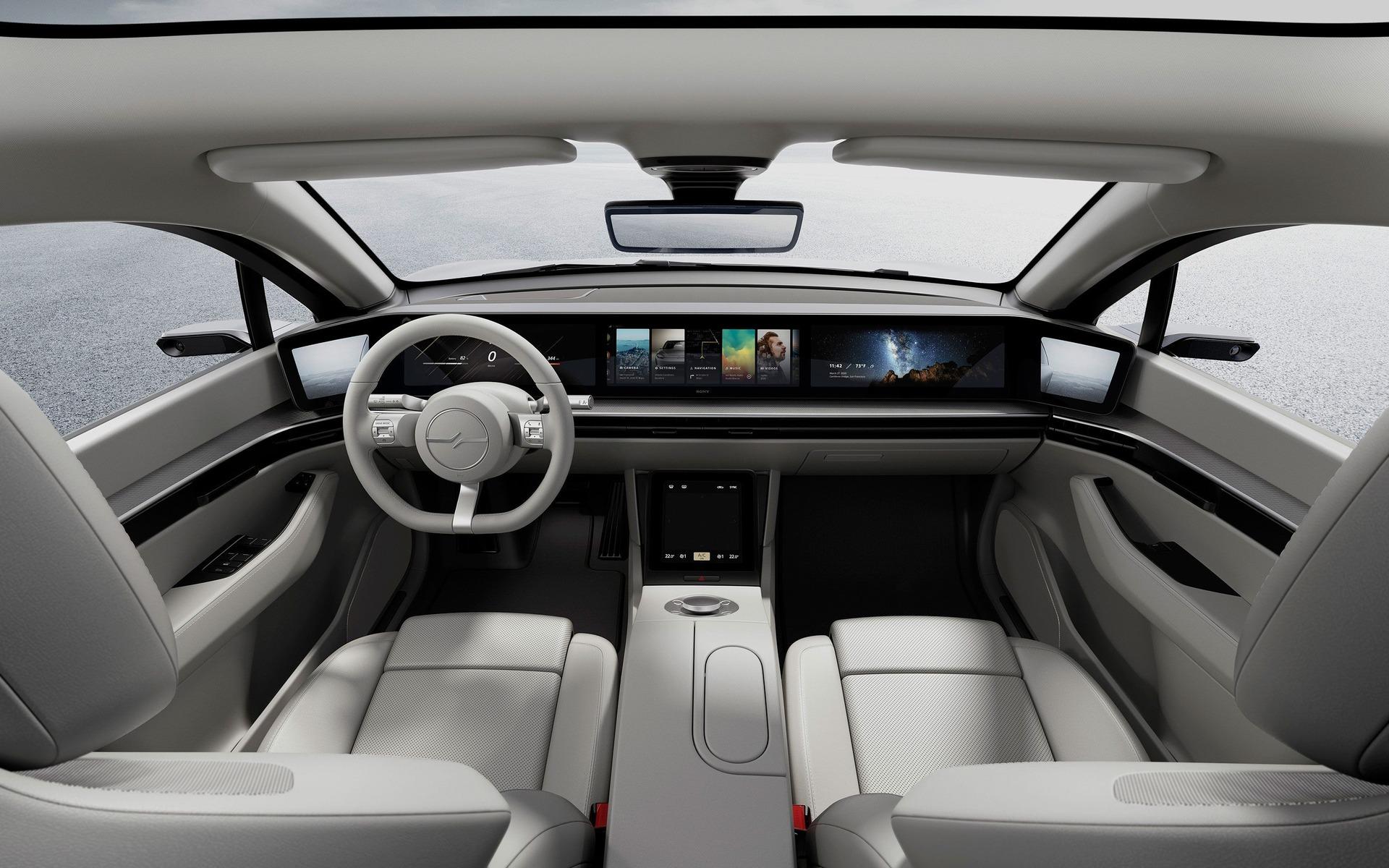 Sony Surprend Tout Le Monde En Devoilant Une Voiture Guide Auto
