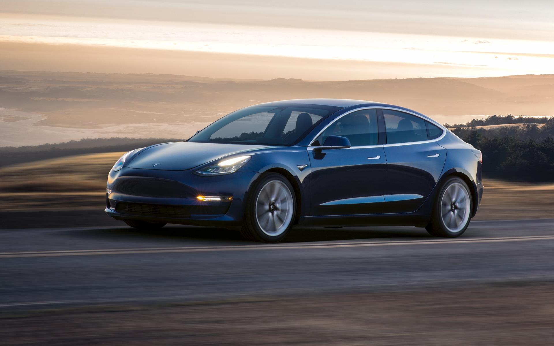 <p>Tesla Model 3</p>