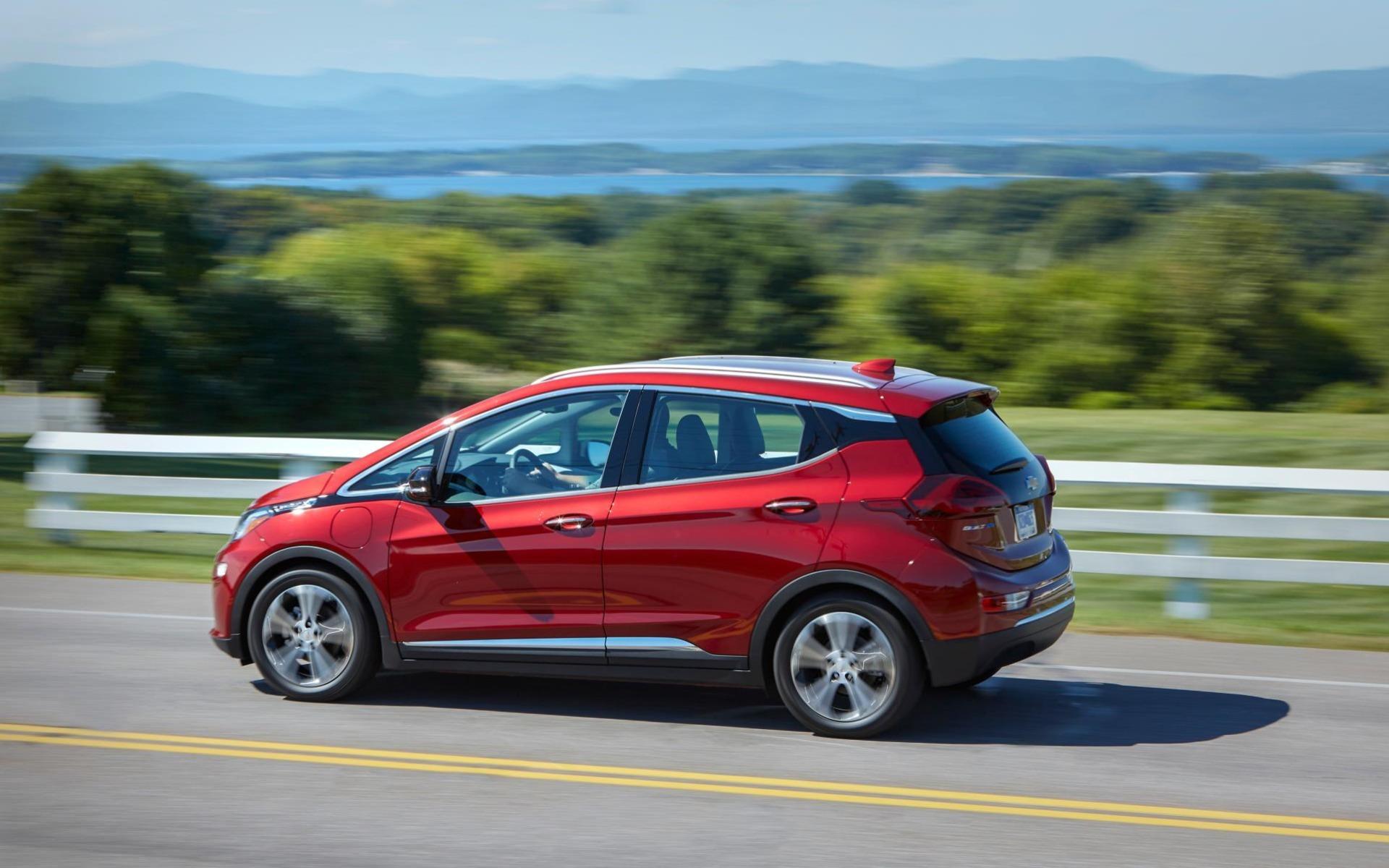<p>Chevrolet Bolt EV</p>
