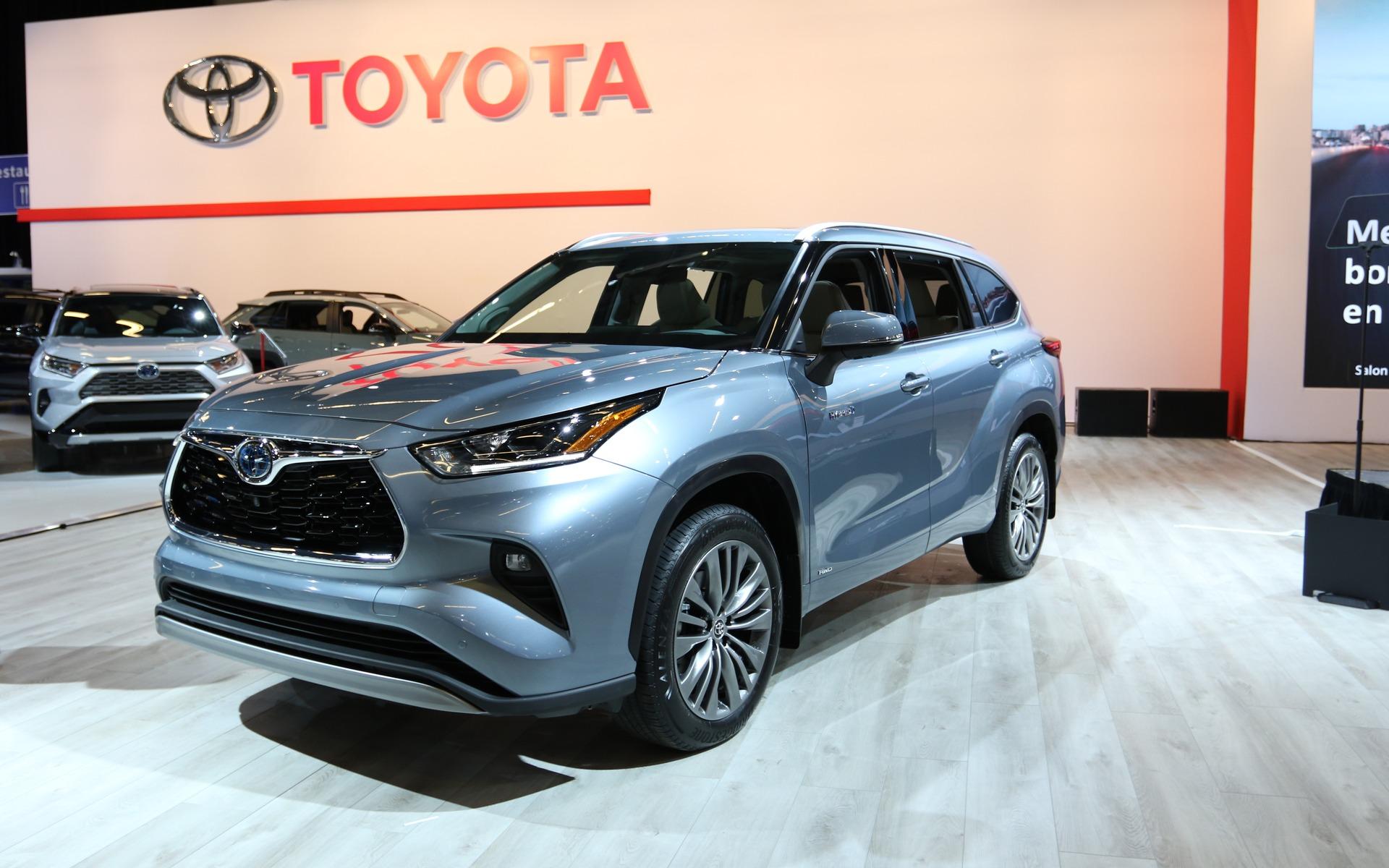 <p>2020 Toyota Highlander</p>