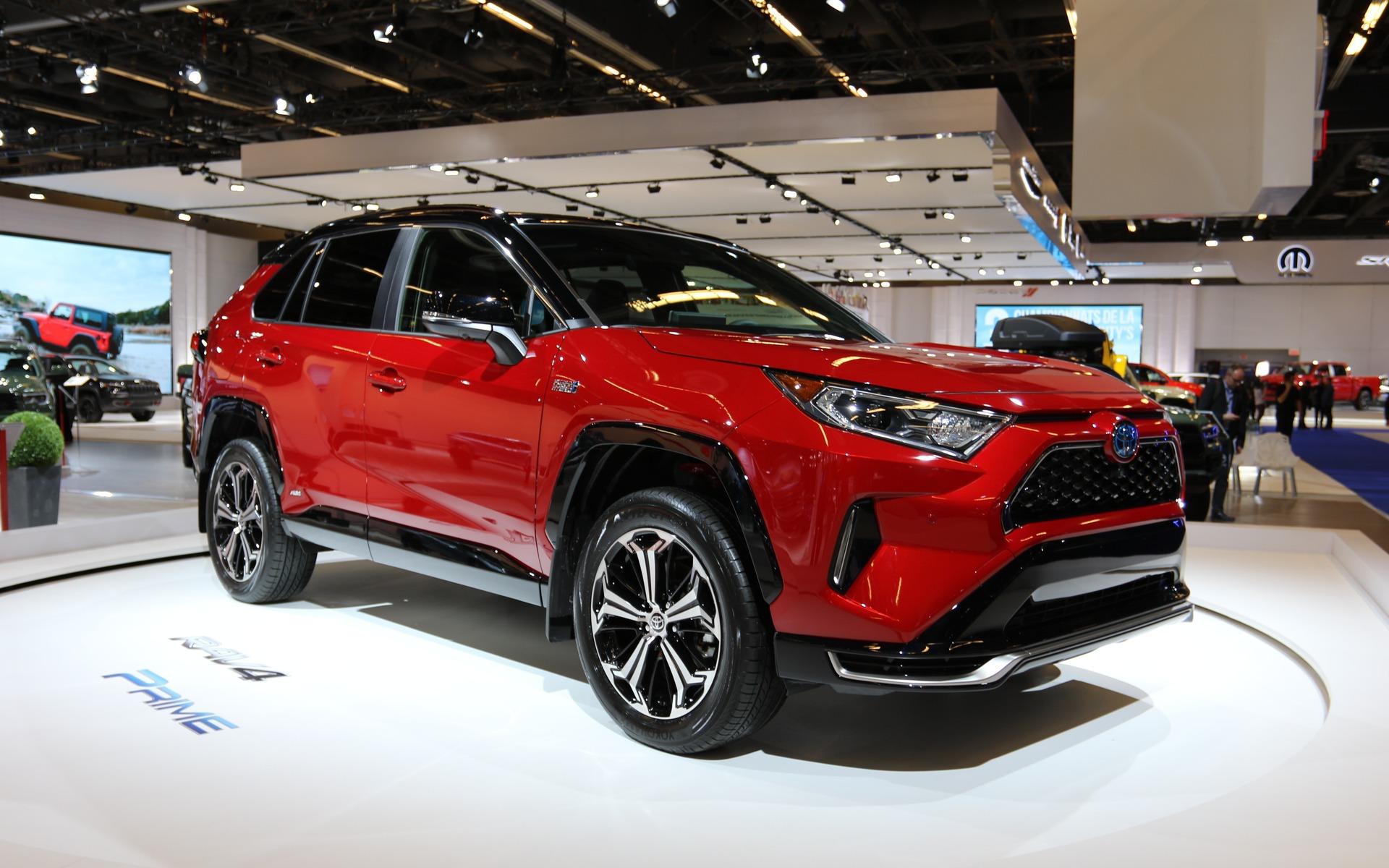 <p>2021 Toyota RAV4 Prime</p>