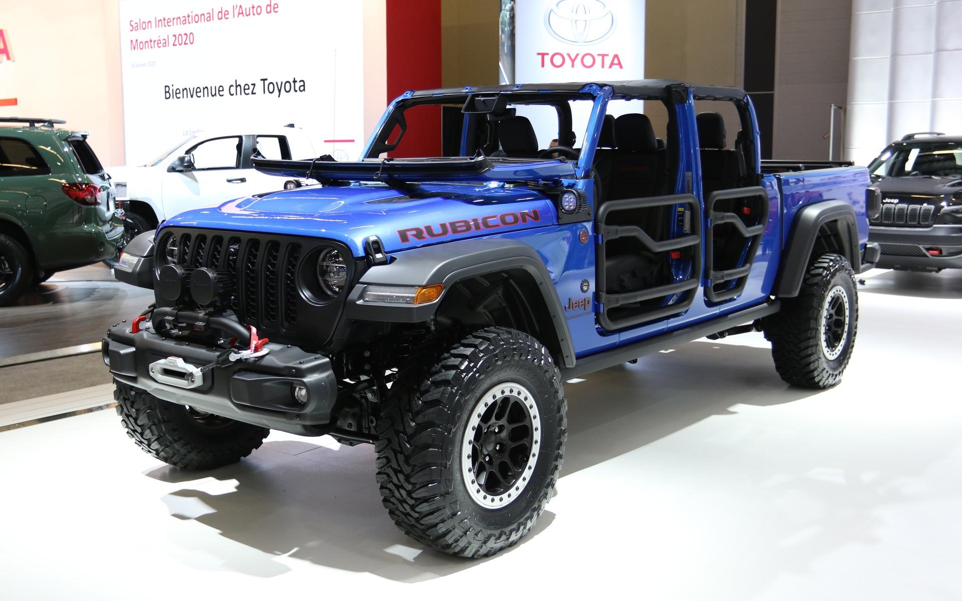 <p>2020 Jeep Gladiator Rubicon</p>