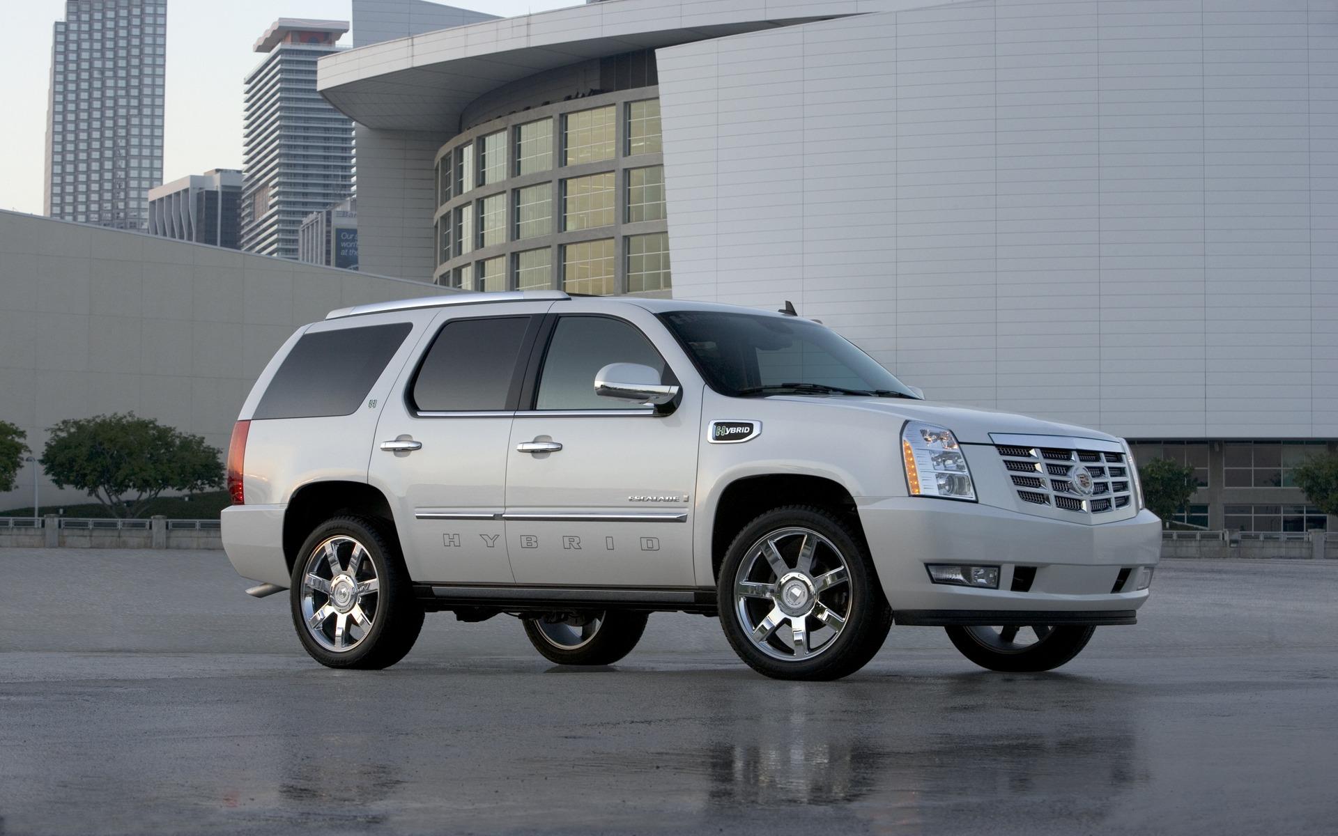 <p>2011 Cadillac Escalade Hybrid</p>