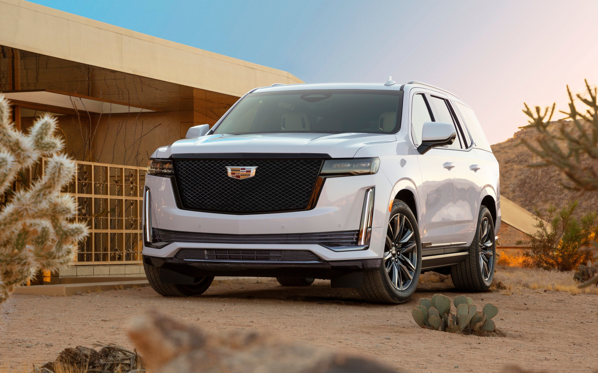<p>2021 Cadillac Escalade</p>