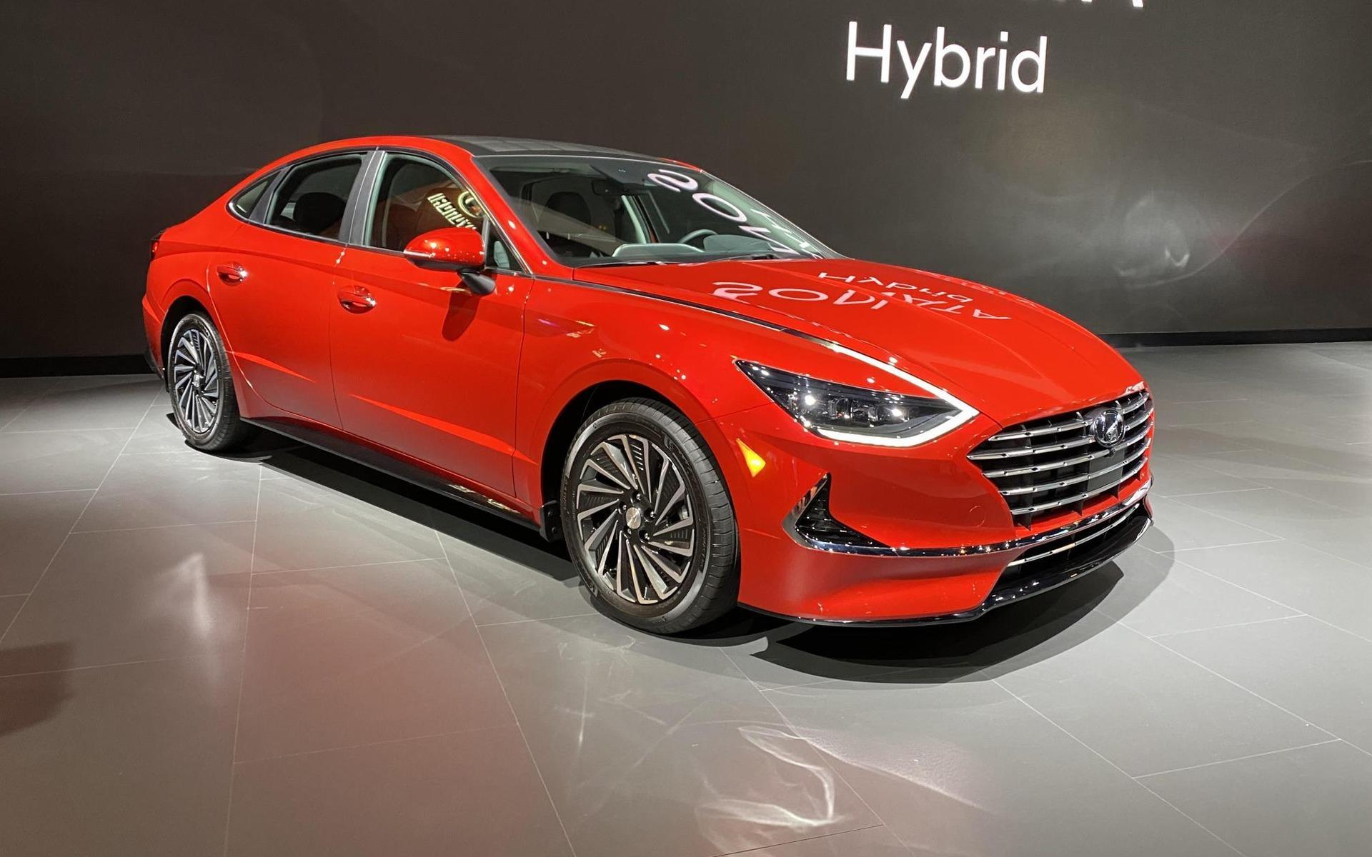 2020 Hyundai Sonata Hybrid Performance and New Engine
