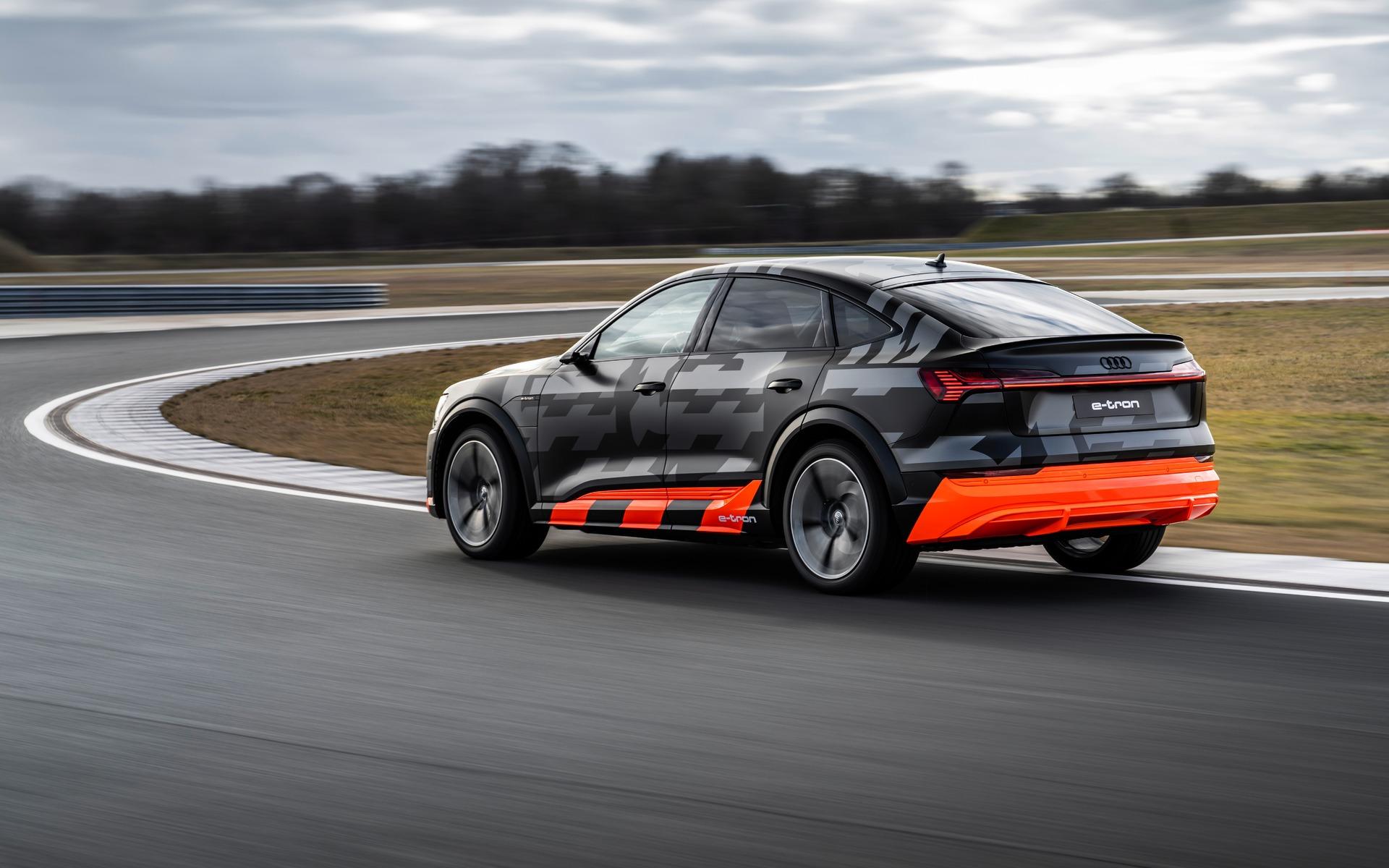 <p>Audi e-tron S Sportback 2020</p>