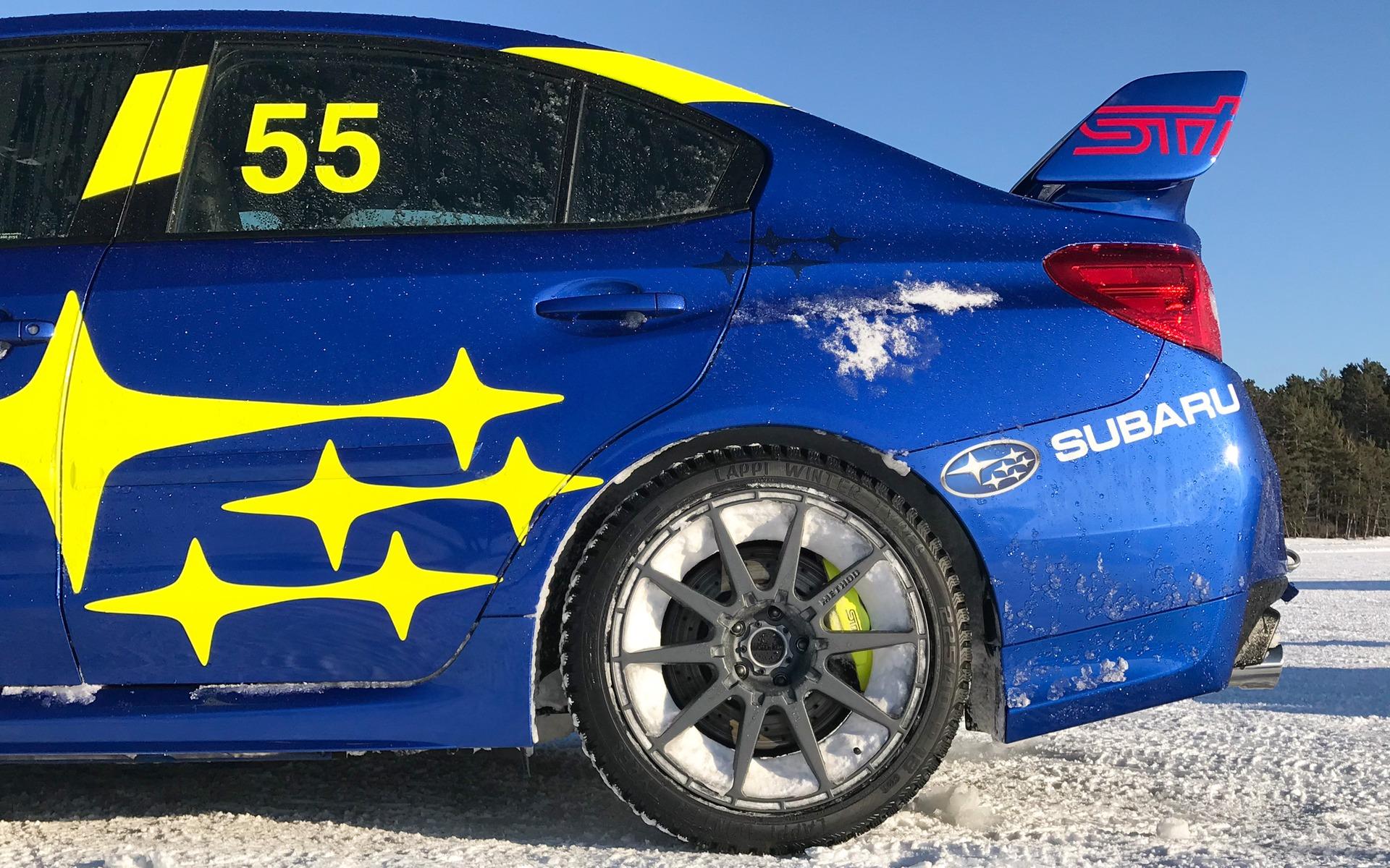 <p>Subaru WRX STI 2020</p>